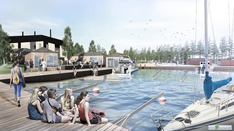 nakyma-satamalaiturilta-uimarannalle