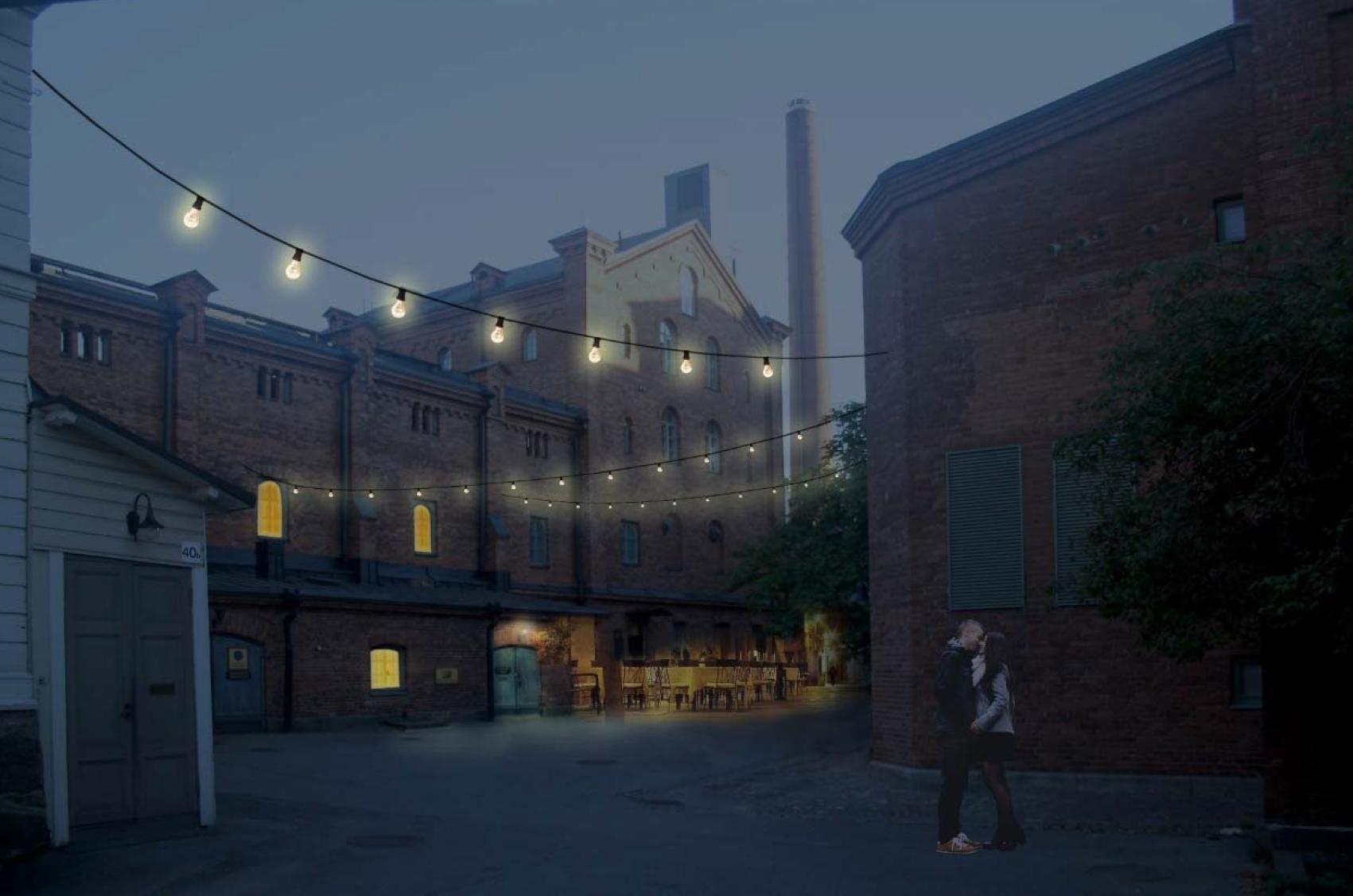 Kaupunkisuunnittelua: Koffin kortteeliin ravintolamaailma
